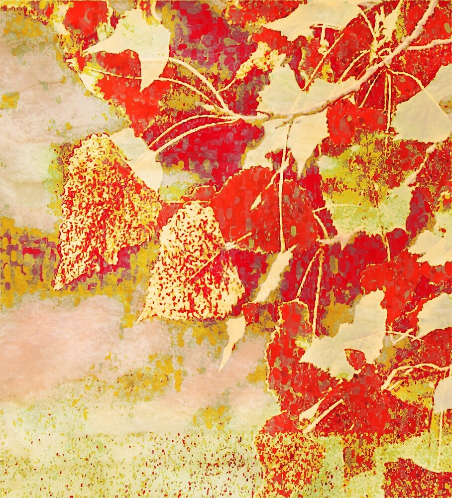 Leaves Surrender to Autumn Hues by KnutsonKr8tions