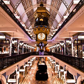 Queen Victoria Building(QVB) at Night by gatekeeper