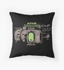 Dexter In The Lab Throw Pillow