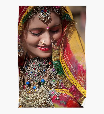 Beauty and Colors of Rajasthan Poster