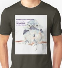 Affirmation for ABUNDANCE 1 T-Shirt