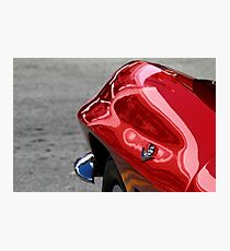 Red Fender Photographic Print