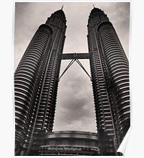 Petrona Towers - Kuala Lumpur, Malaysia Poster