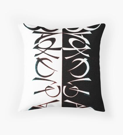 Ambigram: Broadway Bakery Throw Pillow