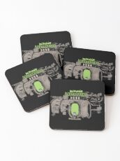 Dexter In The Lab Coasters