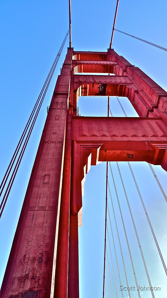 Golden Gate Perspective  by Scott Johnson