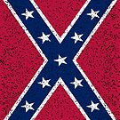 Grunge Confederate Flag Merch For Sale by CreatedProto