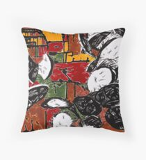 Heated Controversy Throw Pillow