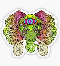 Mammoth Head Sticker