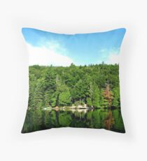 The Algonquin Greens Throw Pillow