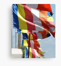 Colors of Buddhism Canvas Print