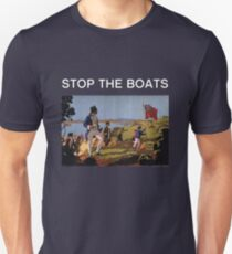 STOP THE BOATS Unisex T-Shirt