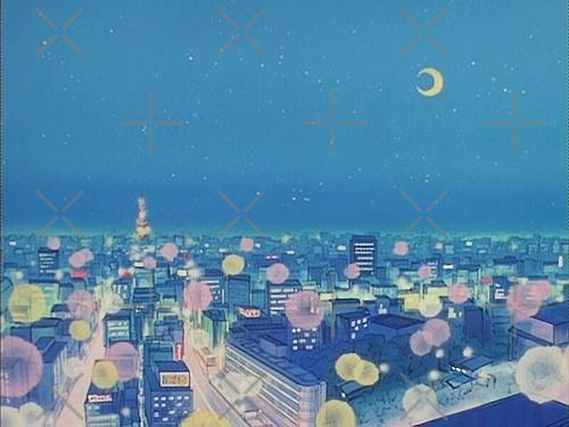 Aesthetic Anime Background City Anime Wallpapers