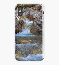 Kananaskis cascades iPhone Case/Skin