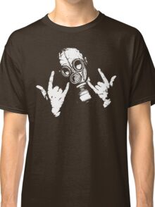 Devil Horns (White Version) Classic T-Shirt