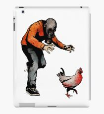 LEROY VS THE EVIL ZOMBIE CHICKEN! iPad Case/Skin