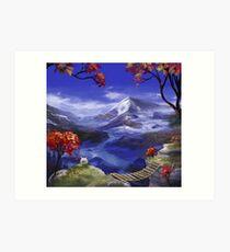 Chrono Trigger: Mountains're Nice Art Print