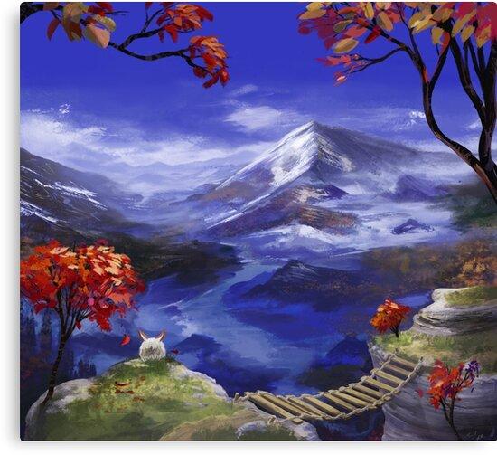 Chrono Trigger: Mountains're Nice by FirebornForm