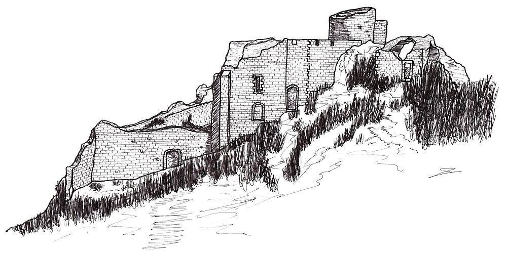 « Château de Peyrepertuse » par Philippe Contal