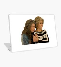 grace and frankie Laptop Skin