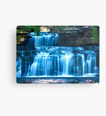 A closer view of Cotter Force Metal Print