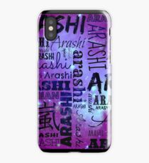 Arashi Text Galaxy iPhone Case