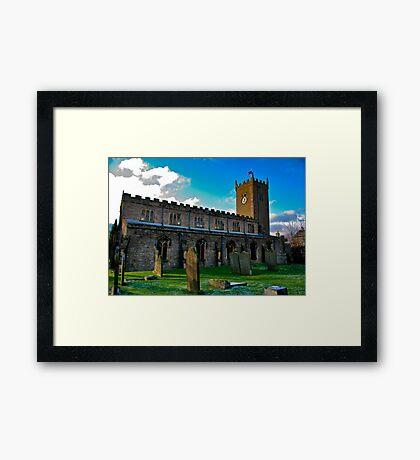 St Oswald's Church - Asgrigg Framed Print