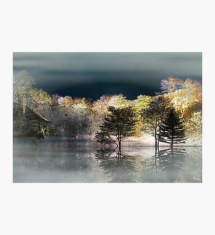 Winter Lights Photographic Print