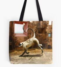 Run Baby Run Tote Bag