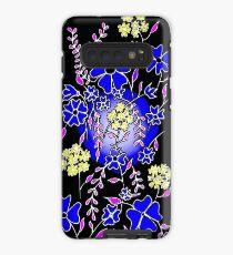 Blue Boquet Case/Skin for Samsung Galaxy