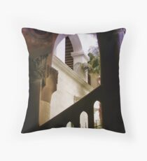 Santa Barbara Courthouse Spirit Throw Pillow