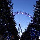 London EYE by Olly  Pirozek