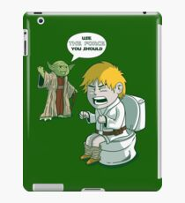 Sometimes the force is not enough. iPad Case/Skin