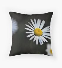 Daisy Bokeh - Bev Woodman Throw Pillow