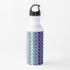 Jokerneon S-type Blade Stripe Seamless Pattern Water Bottle