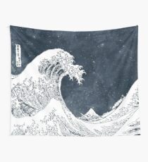 The Great Wave of a Star System Wall Tapestry
