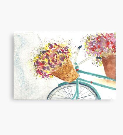 Last Stop the Flower Shop Canvas Print