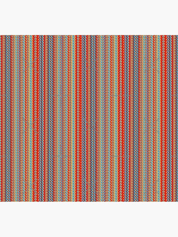 Sunblaze S-type Blade Stripe Seamless Pattern by uniiunMB