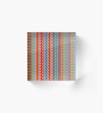 Sunblaze S-type Blade Stripe Seamless Pattern Acrylic Block