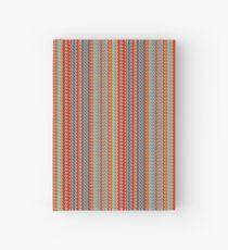 Sunblaze S-type Blade Stripe Seamless Pattern Hardcover Journal