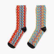 Sunblaze S-type Blade Stripe Seamless Pattern Socks