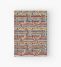 Sunblaze S-type Blade Distort Seamless Pattern Hardcover Journal