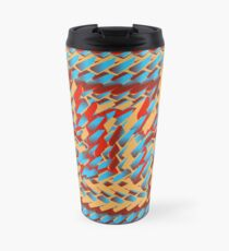 Sunblaze S-type Blade Distort Seamless Pattern Travel Mug