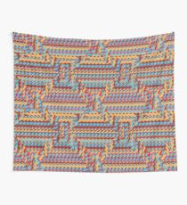 Sunblaze S-type Blade Distort Seamless Pattern Wall Tapestry