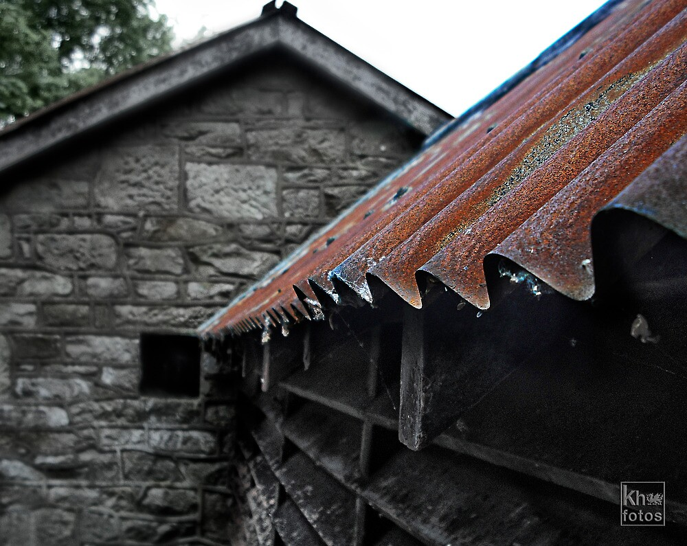 Tin Roof by Kelvin Hughes