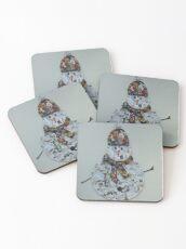 Mr Snowman Coasters