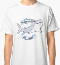 Sharks Are Friends - Not Fiends Classic T-Shirt