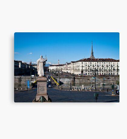View at Torino Canvas Print