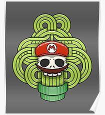 Mario Skull Poster