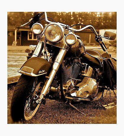 Harley  Davidson  . Views (217) , Favs (4). Thank you Easy Riders !!!! Photographic Print